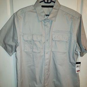 Sean John Men's Button Up Short Sleeve Shirt 2XL
